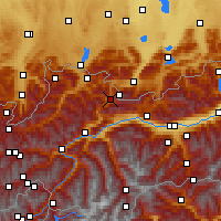 Nearby Forecast Locations - Ehrwald - Map
