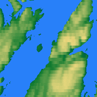 Nearby Forecast Locations - Honningsvåg - Map