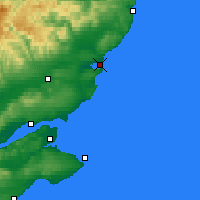 Nearby Forecast Locations - Montrose - Map