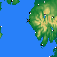 Nearby Forecast Locations - Whitehaven - Map