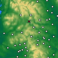 Nearby Forecast Locations - Skipton - Map