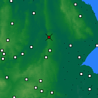 Nearby Forecast Locations - Lincoln - Map
