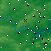 Nearby Forecast Locations - High Wycombe - Map