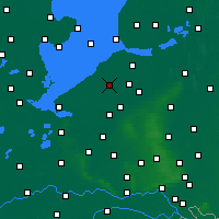 Nearby Forecast Locations - Lelystad - Map