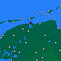 Nearby Forecast Locations - Lauwersoog - Map