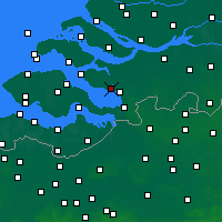Nearby Forecast Locations - Tholen - Map
