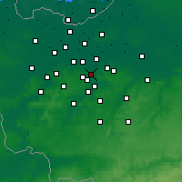 Nearby Forecast Locations - Aalst - Map