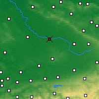 Nearby Forecast Locations - Warendorf - Map