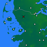 Nearby Forecast Locations - Leck - Map