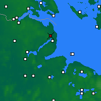 Nearby Forecast Locations - Schönhagen - Map