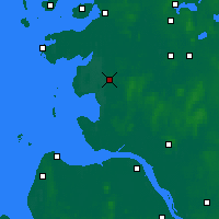 Nearby Forecast Locations - Heide - Map
