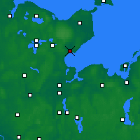 Nearby Forecast Locations - Neustadt in Holstein - Map