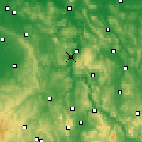 Nearby Forecast Locations - Höxter - Map
