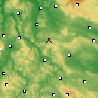 Nearby Forecast Locations - Heiligenstadt - Map