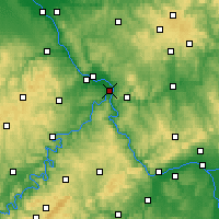 Nearby Forecast Locations - Koblenz - Map