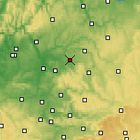 Nearby Forecast Locations - Öhringen - Map