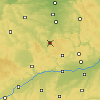 Nearby Forecast Locations - Weißenburg - Map
