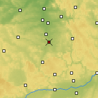Nearby Forecast Locations - Roth - Map