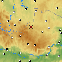 Nearby Forecast Locations - Weitra - Map