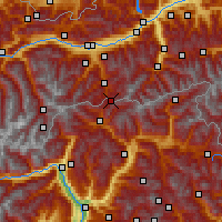 Nearby Forecast Locations - Brenner - Map