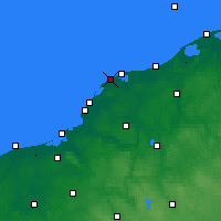 Nearby Forecast Locations - Jarosławiec - Map