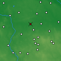 Nearby Forecast Locations - Łęczyca - Map