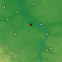 Nearby Forecast Locations - Kozienice - Map