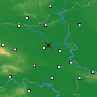Nearby Forecast Locations - Osijek - Map