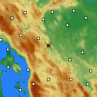 Nearby Forecast Locations - Ogulin - Map