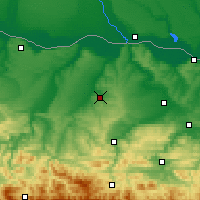 Nearby Forecast Locations - Pleven - Map