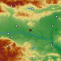 Nearby Forecast Locations - Chirpan - Map