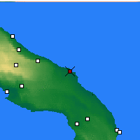 Nearby Forecast Locations - Brindisi - Map