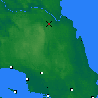 Nearby Forecast Locations - Lesogorskiy - Map