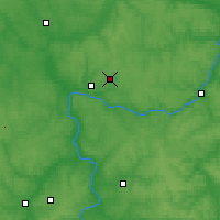 Nearby Forecast Locations - Kaluga - Map