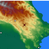 Nearby Forecast Locations - Qobustan - Map