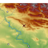 Nearby Forecast Locations - Dohuk - Map