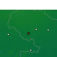 Nearby Forecast Locations - Dinajpur - Map