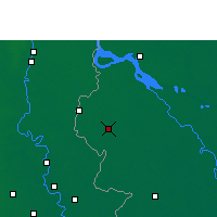 Nearby Forecast Locations - Chuadanga - Map