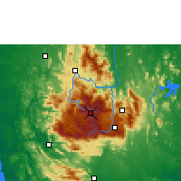 Nearby Forecast Locations - Nuwara Eliya - Map