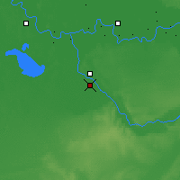 Nearby Forecast Locations - Qian Gorlos - Map