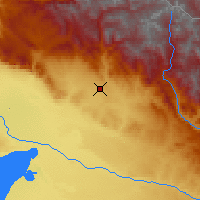Nearby Forecast Locations - Altay - Map