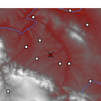 Nearby Forecast Locations - Guanghe - Map