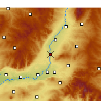 Nearby Forecast Locations - Xiangfen - Map