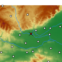 Nearby Forecast Locations - Qinyang - Map