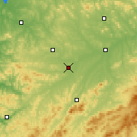 Nearby Forecast Locations - Meihekou - Map