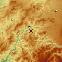 Nearby Forecast Locations - Linjiang - Map