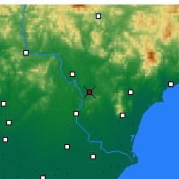 Nearby Forecast Locations - Lulong - Map