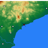 Nearby Forecast Locations - Qinhuangdao - Map