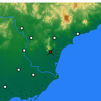 Nearby Forecast Locations - Changli - Map