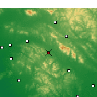 Nearby Forecast Locations - Pingyi - Map